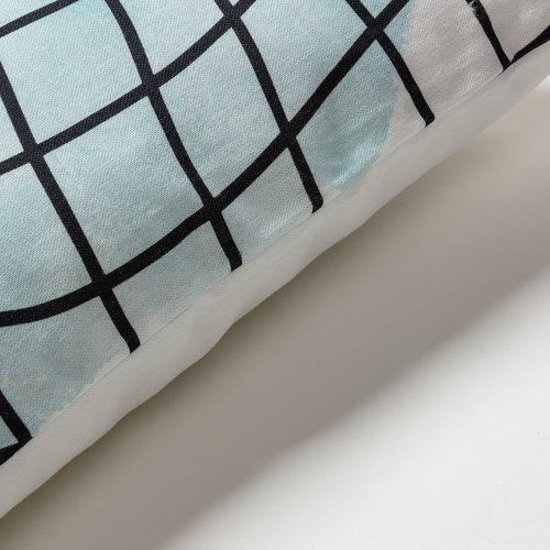 Подушка AA4213J60 - KRISTI 45*45см голубая Laforma 2019