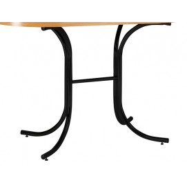Опора для стола Duo GLS black черная Nowystyl