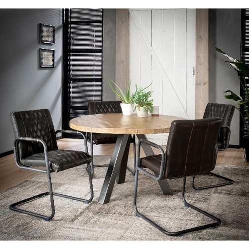 Кресло 4131/45 антрацит Zijlstra 2019