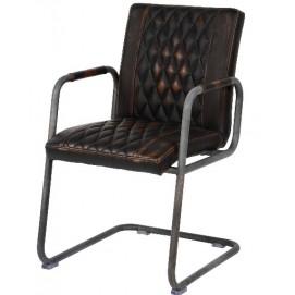 Кресло 4131/40 коричневое Zijlstra 2019