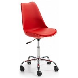 Стул офисный HY128-R красный Primel