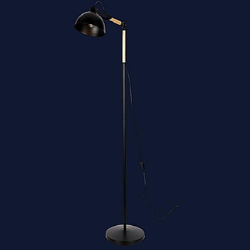 Лампа напольная 756PR5525-1 BK черная Thexata 2019