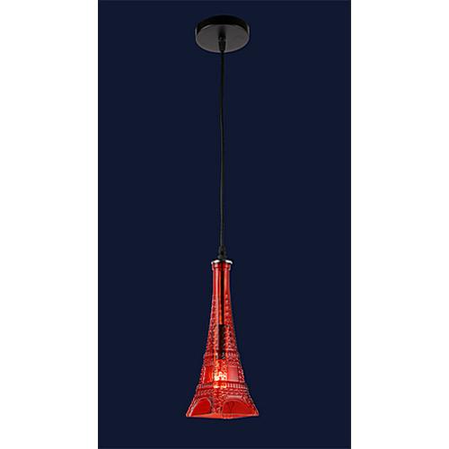 Лампа подвесная 758864-1 RED красная Thexata 2019