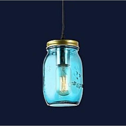 Лампа подвесная 758865-1 BLUE голубая Thexata 2019
