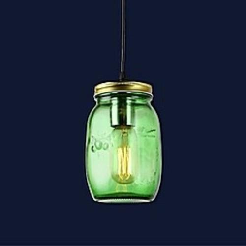 Лампа подвесная 758865-1 GREEN зеленая Thexata 2019