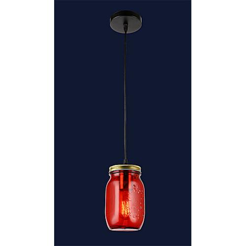 Лампа подвесная 758865-1 RED красная Thexata 2019