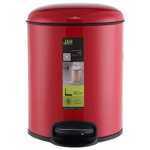 Ведро для мусора JAH 4л 6308 красное
