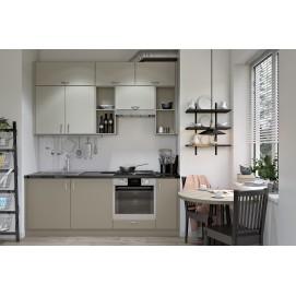 Кухня DRY Lux YAVOR серо-бежевая