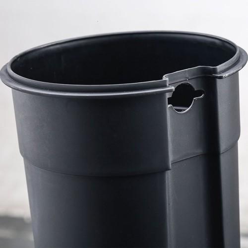 Ведро для мусора NORDIC STYLE JAH 5 Л 6390 белое