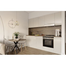 Кухня WILD Lux YAVOR серо-бежевая