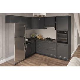 Кухня TAWNY Lux YAVOR черная