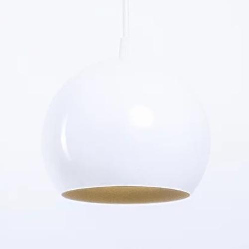 Лампа подвесная Bowl P150 белая Atmolight