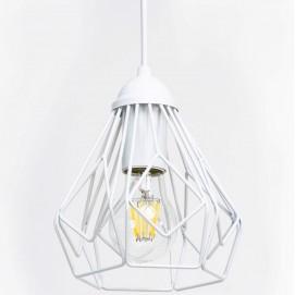 Лампа подвесная Bevel P165 белая Atmolight