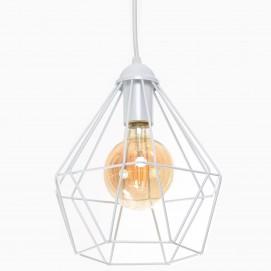 Лампа подвесная Crystal P235 белая Atmolight