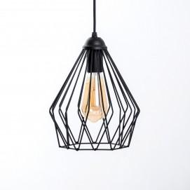 Лампа подвесная Dribble P210 черная Atmolight