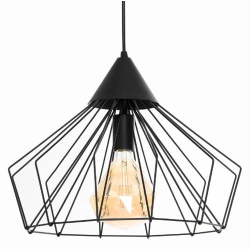 Лампа подвесная Conoid P400 черная Atmolight