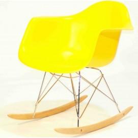 Кресло качалка Leon Rack желтое Thexata 2019