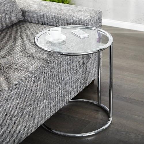 Стол кофейный Art Deco серебро 3243-60 Invicta 2019