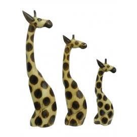 Семья жирафов вполоборота (ж-100, ж-101, ж-102)