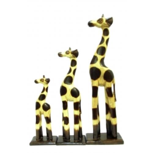 Набор, жираф небольшой натурал, ж-89,90,91