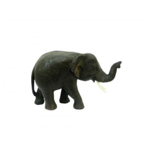 Слон тиковый идущий, хобот вверх (ст-24)