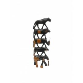 Статуетка Животные Африки Большая пятерка  (фа-жэ-14)