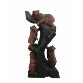 Статуэтка Четыре медведя на дереве, 170см (ФА-мс-07)