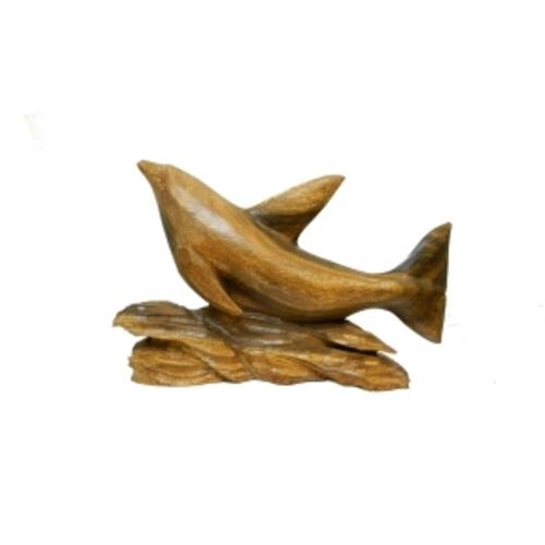 Статуэтка Дельфин суара парящий на поставке (дс-36)