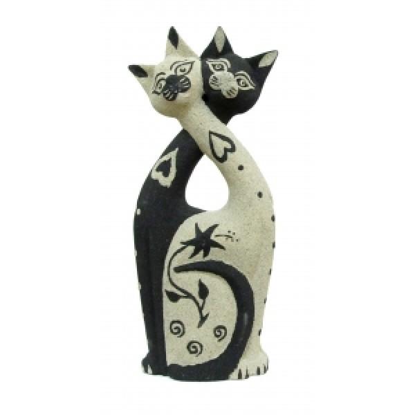 Статуэтка два кота
