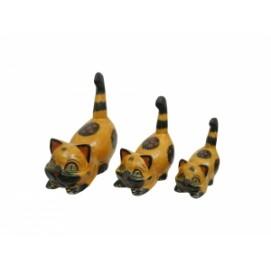 Набор котиков, 4 цвета (кн-146, кн-147, кн-148)