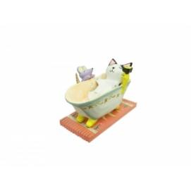 Котик купается в ванне (кн-99)
