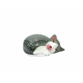 Кот свернулся клубком, 3 цвета (к-63)