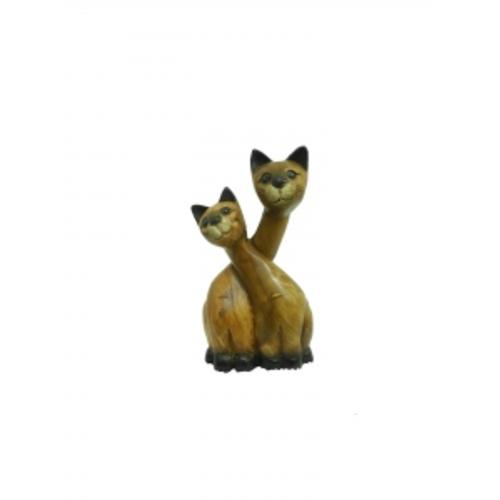 Статуетка Два кота (фа-км-44)