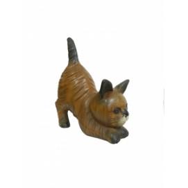 Котик манго пригнулся, волнистая шерсть (км-70)