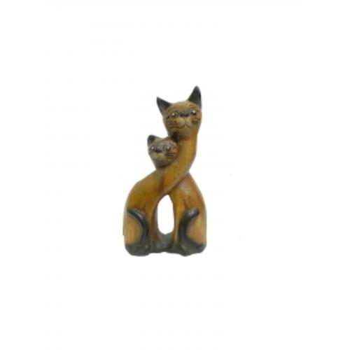 Статуетка Два кота (фа-км-67)