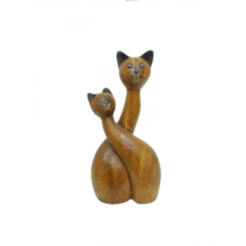 Статуетка Два кота (фа-км-43)
