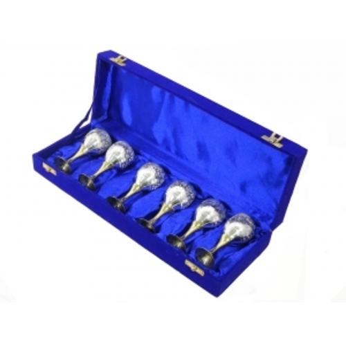 Набор рюмок в синей коробке (фа-нр-73)