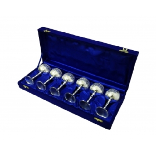 Набор рюмок в синей коробке на 6 персон (фа-нр-71)