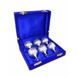 Набор маленьких рюмок в синей коробке (нр-65)