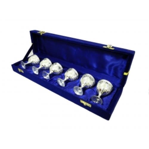 Набор рюмок в синей коробке (фа-нр-66)