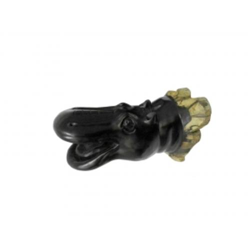 Статуетка Голова бегемота настенная (фа-бэ-03)