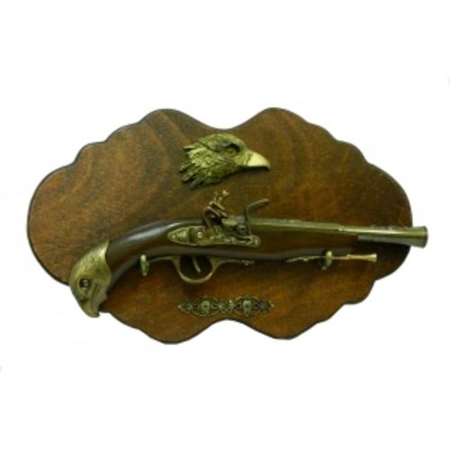 """Оружие сувенирное: пистоль с орлом,  ручка """"орел"""", подвесной (ос-62)"""