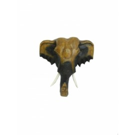 Маска слона, 22см, манго (ФА-мс-27)
