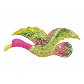 """Панно тиковое """"Летящая птица"""", 4 цвета (фа-пт-134, пт-135)"""
