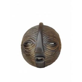 Маска африканская ритуальная, 30см, цейба (ФА-мэ-27-03)