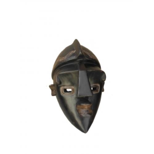 Маска африканская ритуальная, 30см, цейба (ФА-мэ-27-02)