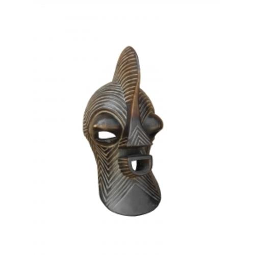 Маска африканская ритуальная, 30см, цейба (ФА-мэ-27-01)
