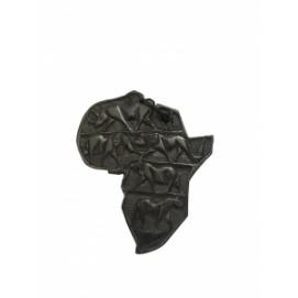Карта Африки с изображением животных, 4 вида (фа-кэ-05)