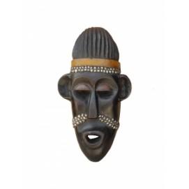 Маска африканская ритуальная, племя Маконда, дерево цейба (мэ-24-10)