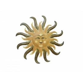 Солнышко с тонкими закрученными лучиками (фа-си-90)